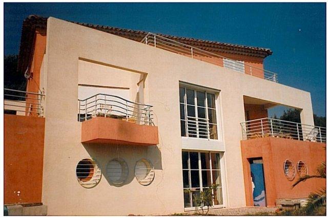 Construction d'une Villa à Fréjus (83)